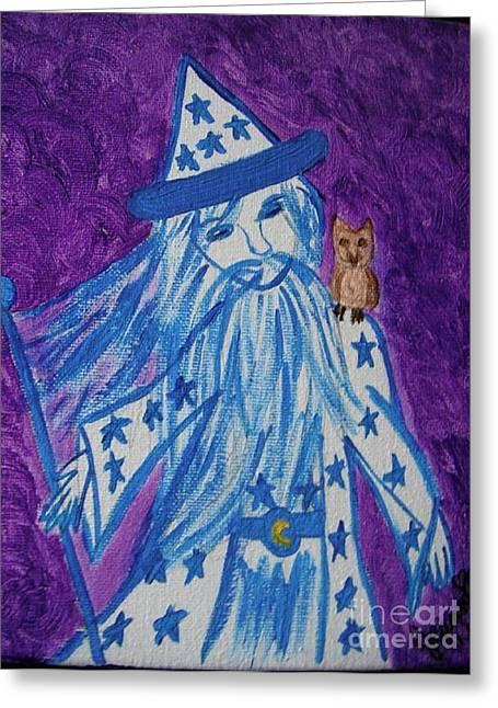 Jordan Wall Art Greeting Cards - Off to See the Wizard Greeting Card by Jeannie Atwater Jordan Allen