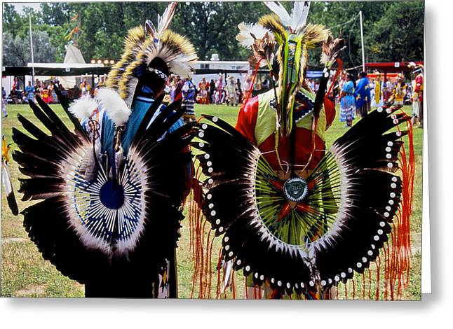 Oglala Greeting Cards - Oglala Friends Greeting Card by Chris  Brewington Photography LLC