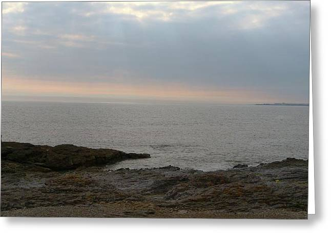 Beach Scenery Greeting Cards - Ogmore by sea Greeting Card by Andrew Read