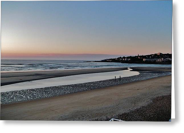 Best Sellers -  - Maine Beach Greeting Cards - Ogunquit Beach Greeting Card by Tom  Shaw