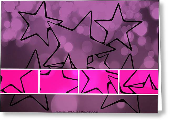 Sharpie Squad Greeting Cards - Oh My Stars Greeting Card by Mandy Shupp