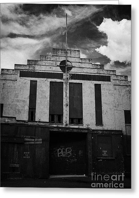 Ballymoney Greeting Cards - Old Abandonded Ballymoney Dance Hall County Antrim Northern Ireland Greeting Card by Joe Fox