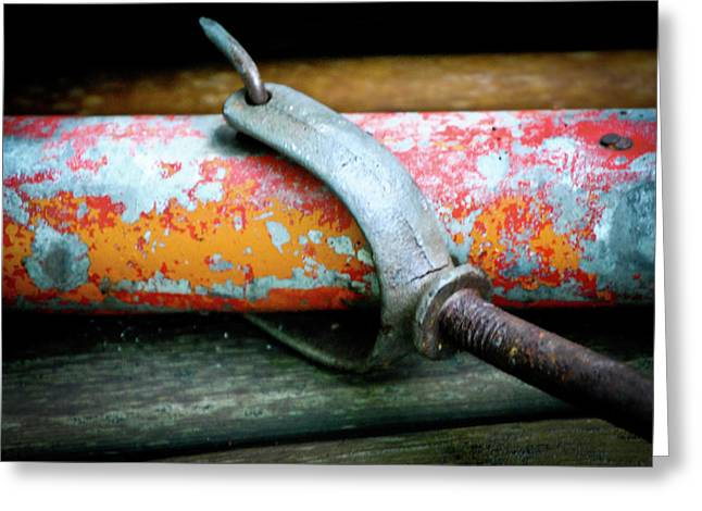 Boat Hardware Greeting Cards - Old Age Isnt So Bad Greeting Card by Laura Pineda