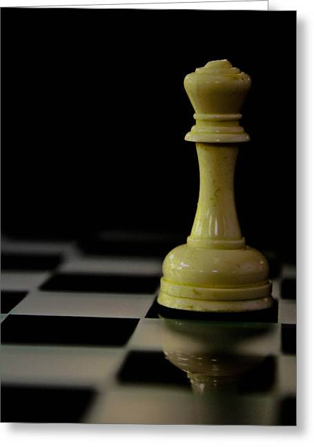 Chess Piece Greeting Cards - Old and New Greeting Card by Jason Blalock