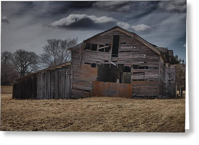 Beautiful Scenery Greeting Cards - Old Barn Greeting Card by Tim Perry