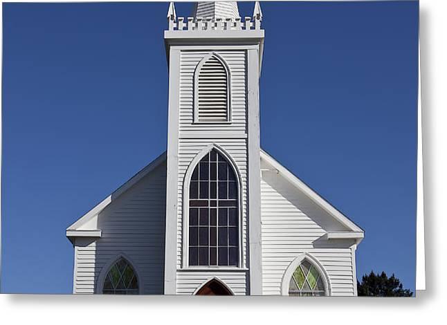 Old Bodega Church Greeting Card by Garry Gay
