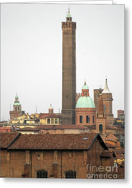 Mike Nellums Greeting Cards - Old Bologna Italy 1 Greeting Card by Mike Nellums