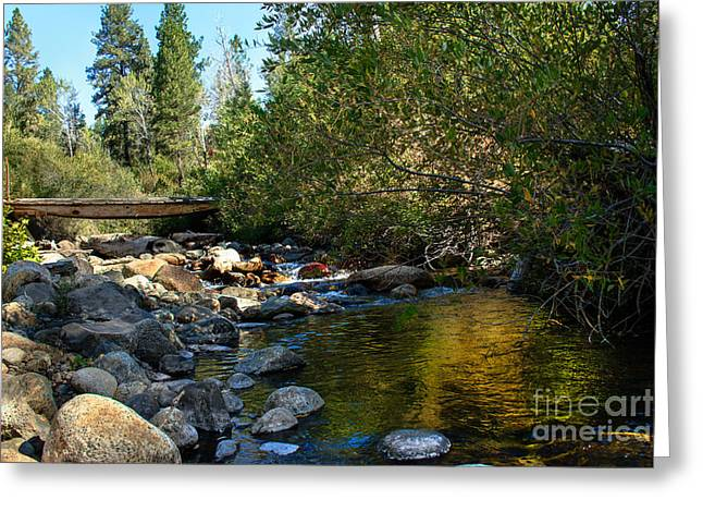 Picturesqueness Greeting Cards - Old Bridge Greeting Card by Robert Bales