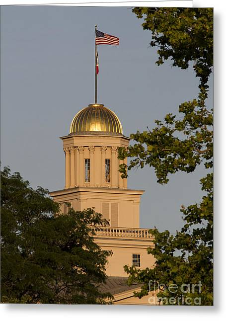 Diane Zumbach Greeting Cards - Old Capitol Greeting Card by Diane Zumbach