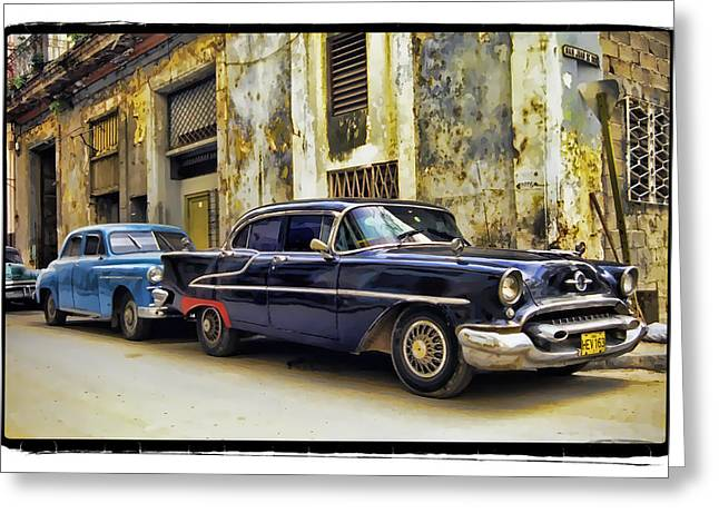 Old Car 1 Greeting Card by Mauro Celotti