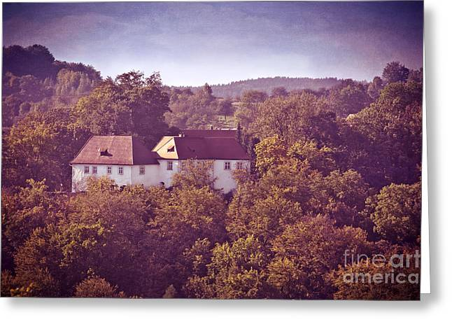 OLD CASTLE Greeting Card by VIAINA