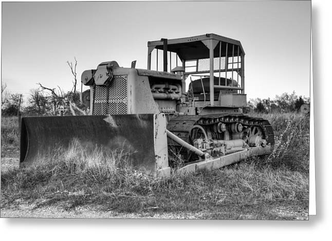 Tractor Prints Greeting Cards - Old Cat I Greeting Card by Ricky Barnard