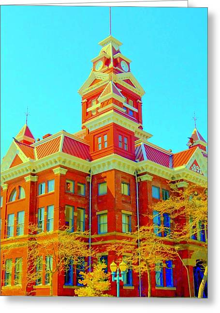 Cupula Greeting Cards - Old City Hall Bellingham Greeting Card by Randall Weidner