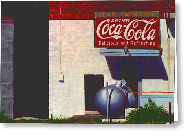 Deli Greeting Cards - Old Deli Greeting Card by Robert Henne