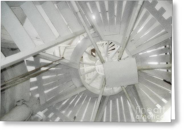 Old Dutch Windmill Stairs Greeting Card by Janeen Wassink Searles