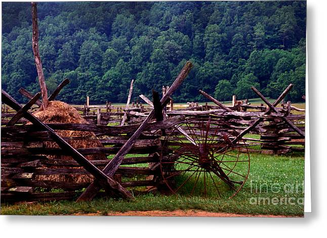 Hay Rake Greeting Cards - Old farm hay rake Greeting Card by Paul W Faust -  Impressions of Light