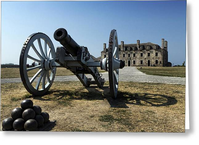 Blacksmiths Greeting Cards - Old Fort Niagara Greeting Card by Peter Chilelli