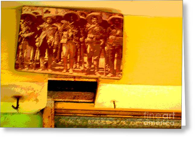 Old Glories by Michael Fitzpatrick Greeting Card by Olden Mexico
