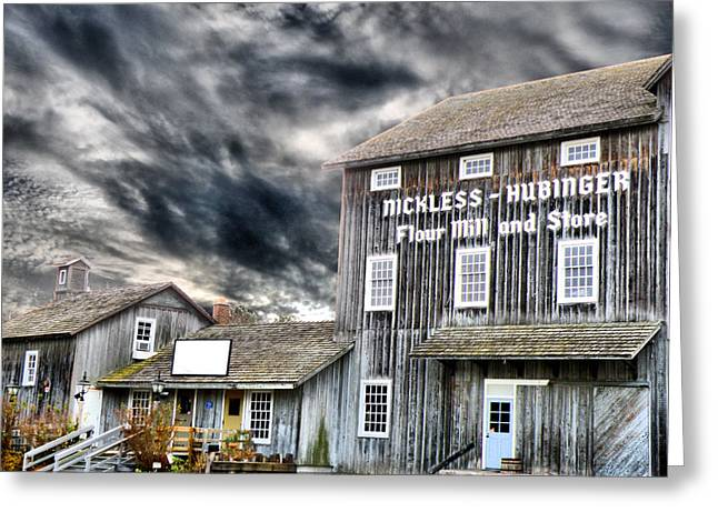 Grain Mill Greeting Cards - Old Grain Mill Greeting Card by Scott Hovind