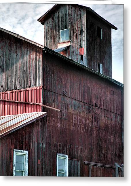Agriculture Framed Prints Greeting Cards - Old Granary I Greeting Card by Steven Ainsworth