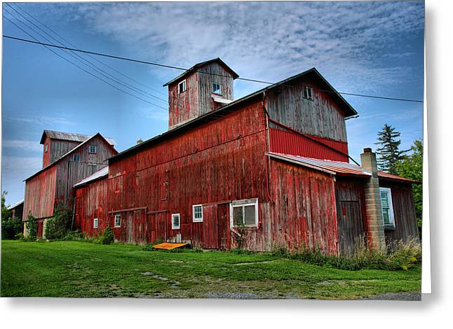 Agriculture Framed Prints Greeting Cards - Old Granary III Greeting Card by Steven Ainsworth