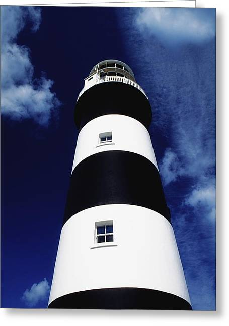 Navigational Greeting Cards - Old Head Of Kinsale, Kinsale, County Greeting Card by Richard Cummins