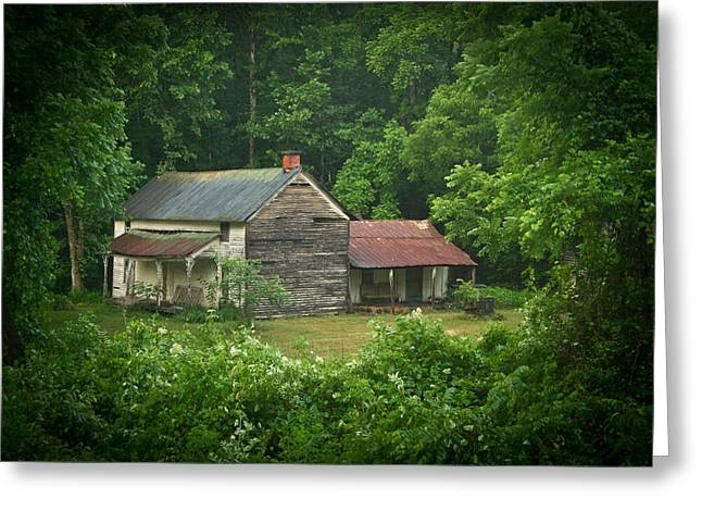 Old Home Place Greeting Cards - Old Home Place Greeting Card by Douglas Barnett