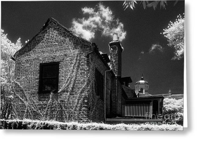 Jeff Holbrook Greeting Cards - Old House in Charleston Greeting Card by Jeff Holbrook