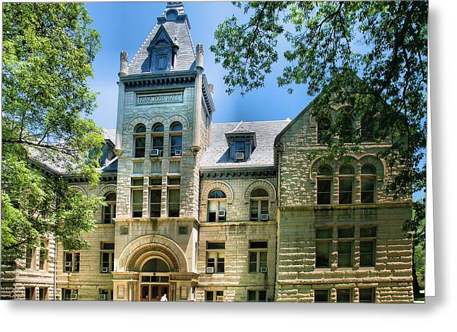 Indiana Photography Greeting Cards - Old Kirkwood Hall Greeting Card by Steven Ainsworth