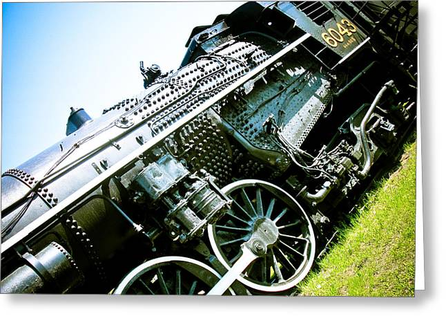 Manitoba Greeting Cards - Old Locomotive 01 Greeting Card by Michael Knight