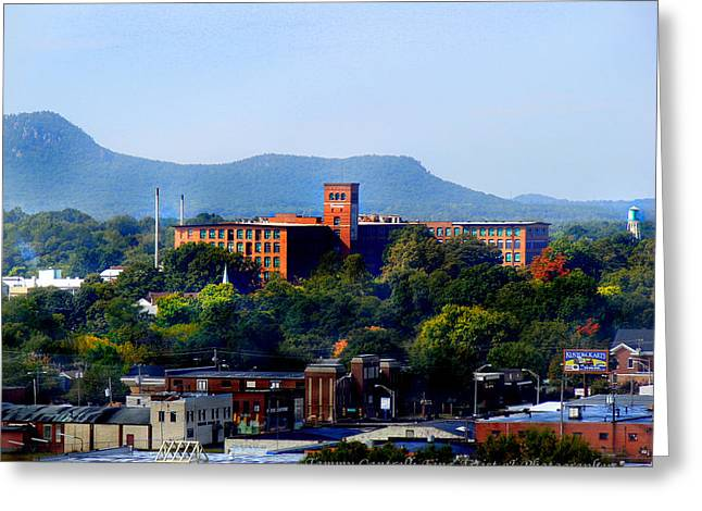 Wiggins Greeting Cards - Old Loray Firestone Mill  Greeting Card by Tammy Cantrell