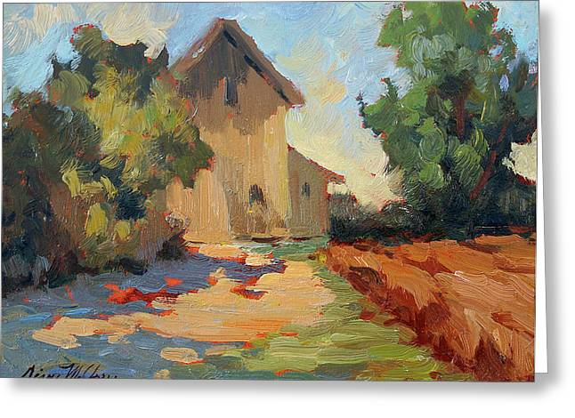 Kasbah Greeting Cards - Old Mill Provence Greeting Card by Diane McClary