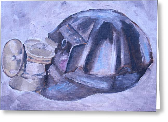 Hard Hats Greeting Cards - Old Miner Hat Greeting Card by Mikayla Henderson