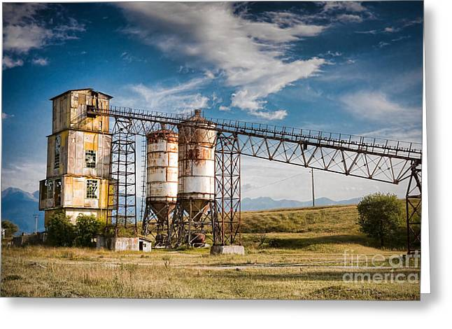 Mechanism Greeting Cards - Old quarry Greeting Card by Gabriela Insuratelu