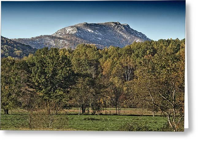 Ragged Peaks Greeting Cards - Old Rag Mountain - Virginia Greeting Card by Brendan Reals
