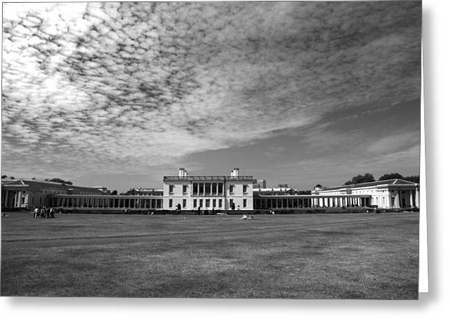 Royal Naval College Greeting Cards - Old Royal Naval College Greenwich UK Greeting Card by Pauline Cutler