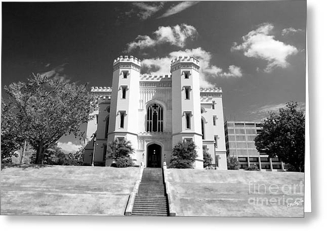 Infared Photography Greeting Cards - Old State Capital Greeting Card by Scott Pellegrin