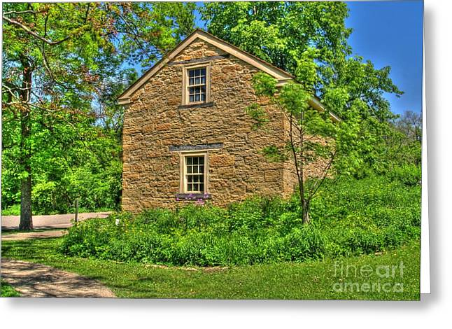 Country Cottage Greeting Cards - Old Stone House I Greeting Card by Jimmy Ostgard