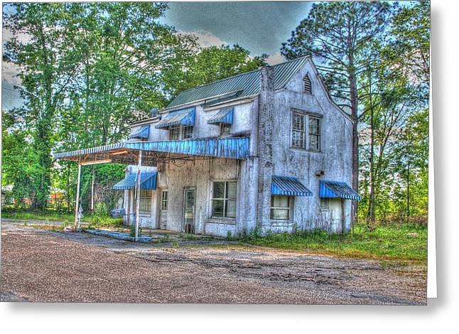 Best Sellers -  - Enterprise Digital Greeting Cards - Old Store and Station Greeting Card by Rick Ward