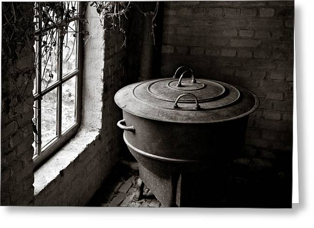 Old Stove Greeting Cards - Old Stove Greeting Card by Dave Bowman