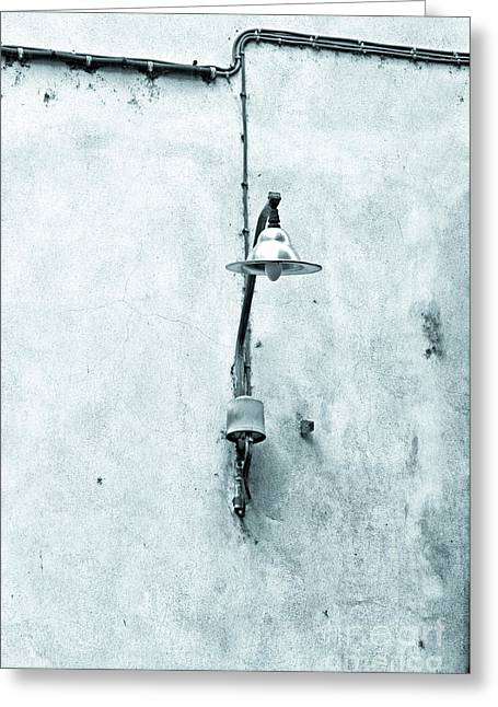 Streetlight Greeting Cards - Old street lamp Greeting Card by Silvia Ganora