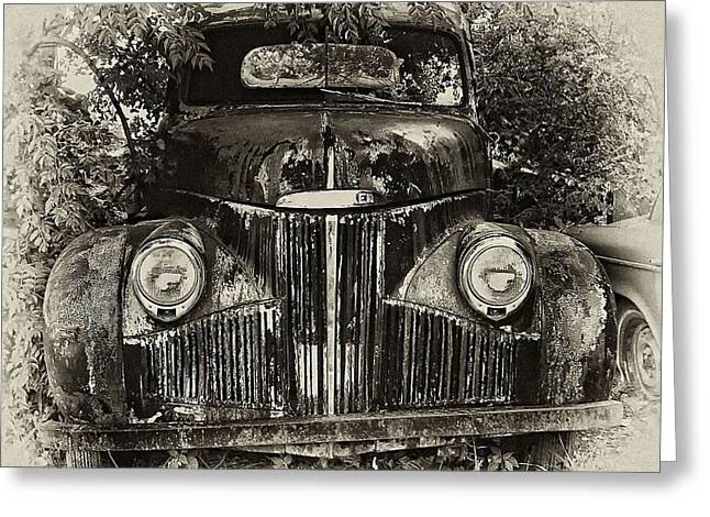 Barry Styles Greeting Cards - Old Timer Greeting Card by Barry Styles