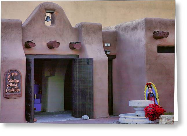 Our Lady Of Guadalupe Greeting Cards - Old Town Chapel I Greeting Card by Steven Ainsworth