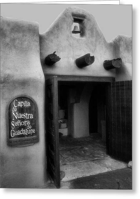 Our Lady Of Guadalupe Greeting Cards - Old Town Chapel III Greeting Card by Steven Ainsworth