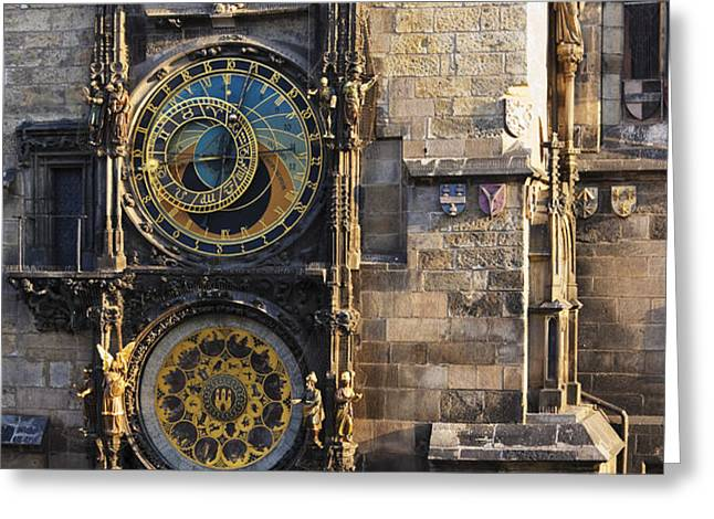 Old Town Hall Clock Greeting Card by Jeremy Woodhouse