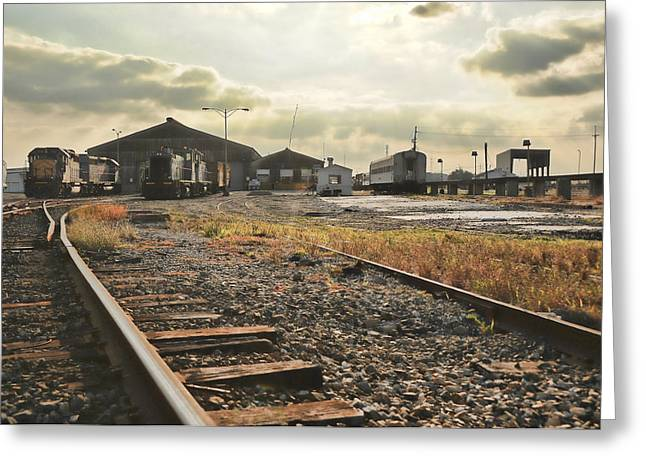 Fineartphotography Greeting Cards - Old train stations of new orleans Greeting Card by Alicia Morales