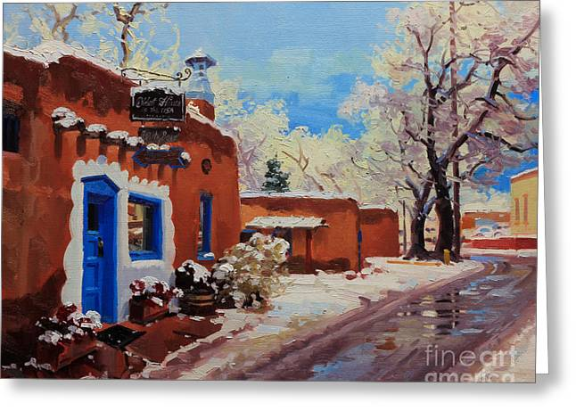 Oldest Adobe House  Greeting Card by Gary Kim