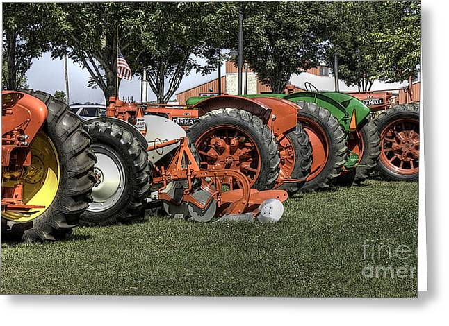 Mccormicks Farm Greeting Cards - Oldies but goodies Greeting Card by David Bearden