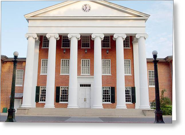 Ole Miss Lyceum One Greeting Card by Joshua House