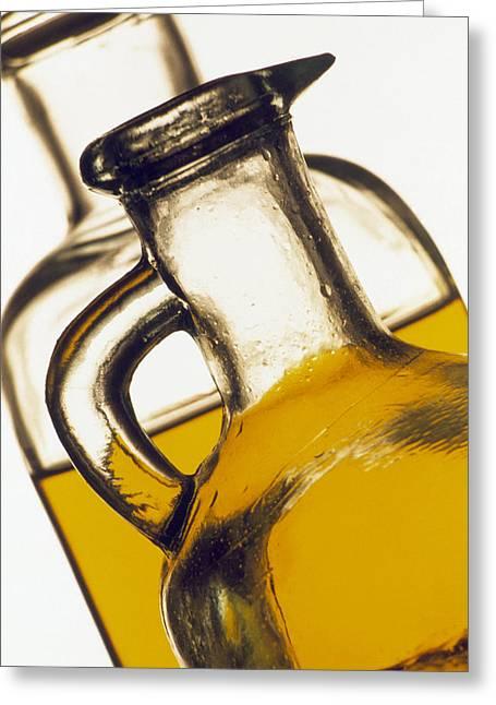 Olive Oil Greeting Cards - Olive Oil Greeting Card by Tony Craddock